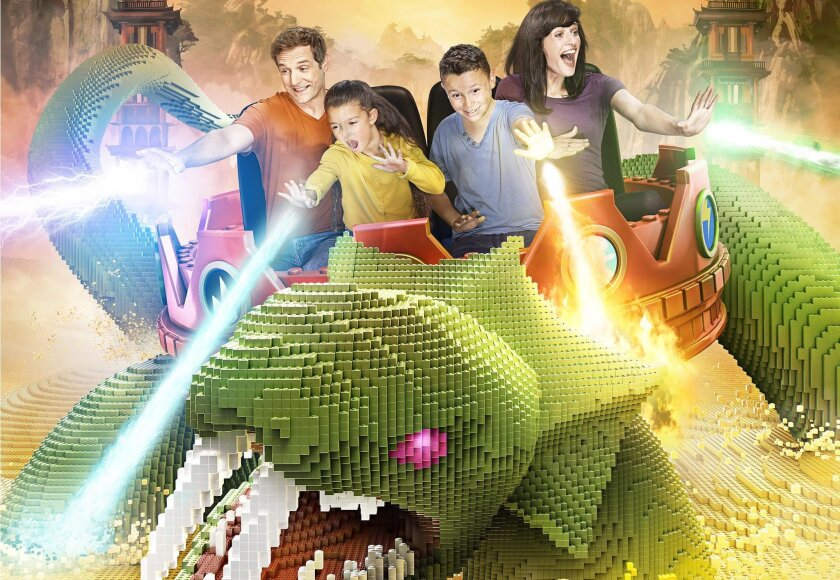 Legoland will be home next year to a new Ninjago-themed land, the centerpiece of which will be an interactive ride, complete with 3D and 4D effects.