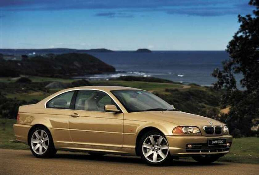 BMW is recalling 42,000 model year 2002-2003 3-series cars for front-passenger-side air bag problems