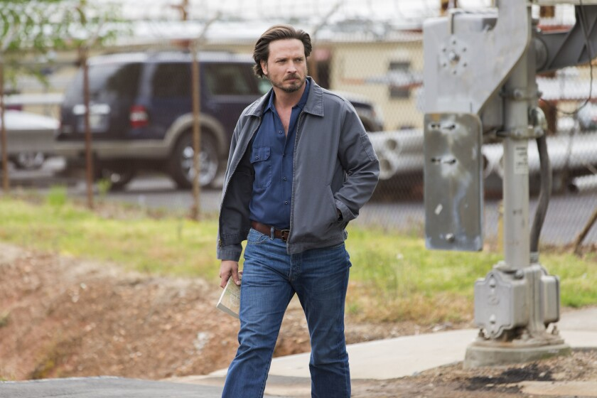 """Aden Young is the star of the acclaimed SundanceTV series """"Rectify,"""" which begins its fourth and final season Oct. 26."""