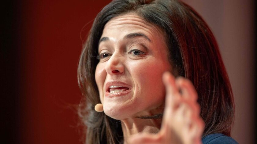Sheryl Sandberg, chief operating officer of Facebook, speaks at a conference in Munich earlier this year.