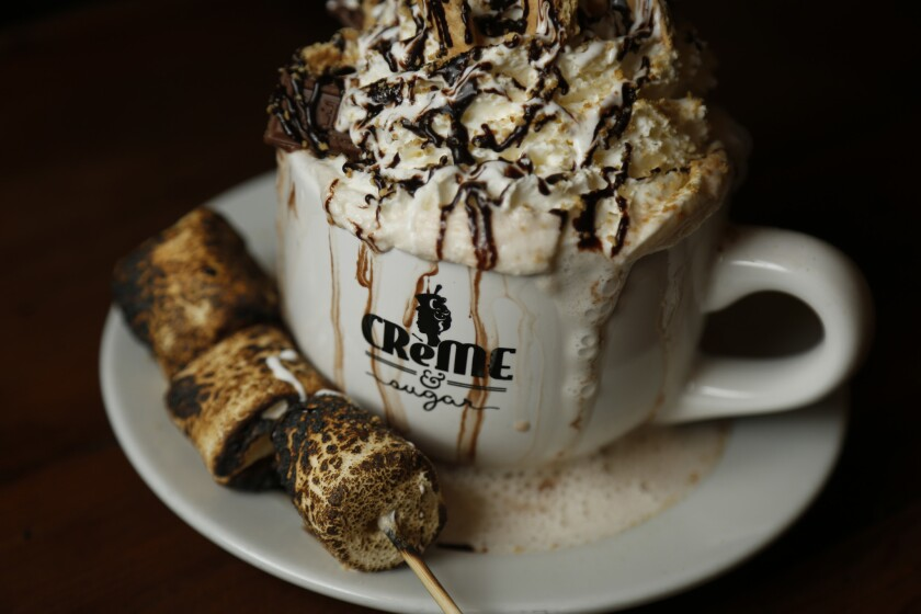 """S'mores Hot Chocolate"""