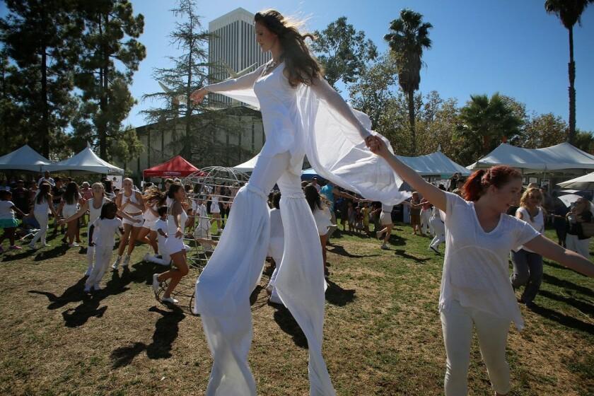 Launch LA's Tarfest at the La Brea Tar Pits
