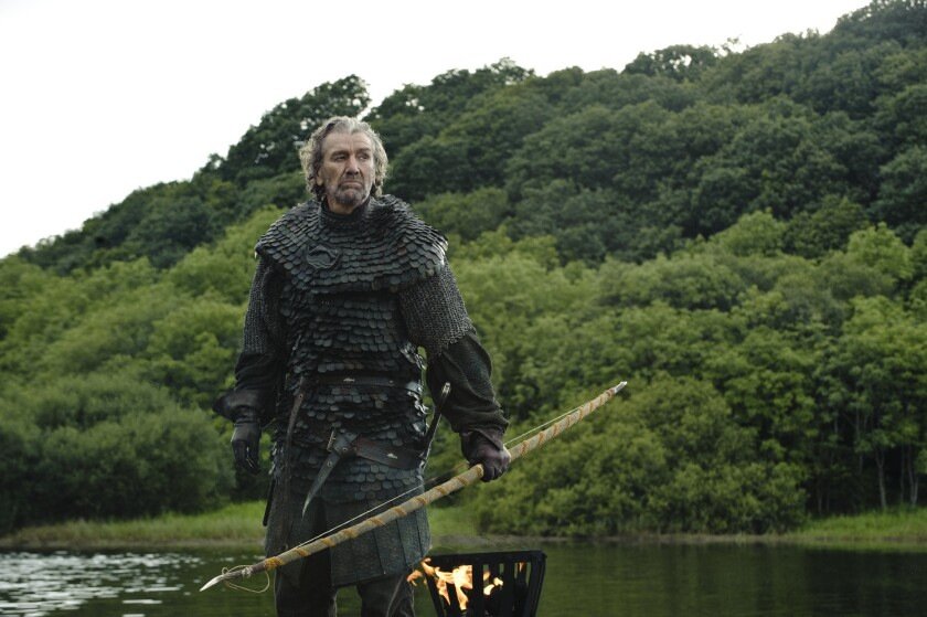 """Clive Russell portrays Brynden """"The Blackfish"""" Tully in HBO's """"Game of Thrones."""""""