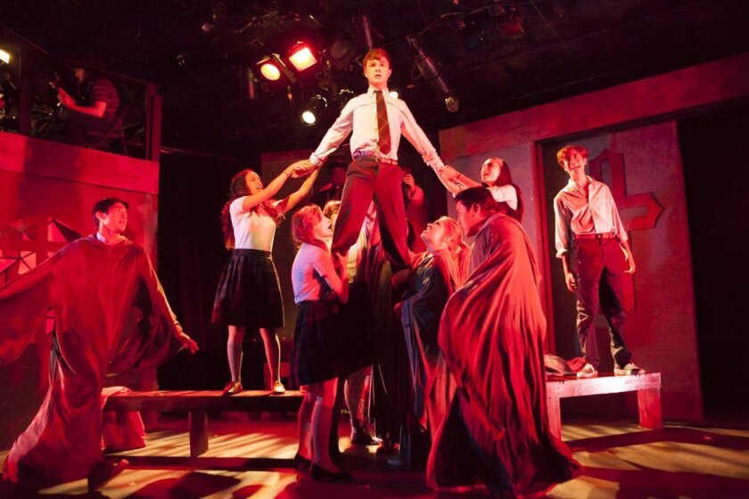 """""""bare: a pop opera"""" gets a San Diego premiere at the Diversionary Theatre in University Heights. The show runs through Aug. 3."""