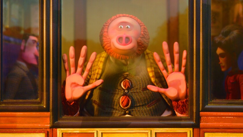 Mr. Link voiced by Zach Galifianakis in director Chris Butler?s MISSING LINK, a Laika Studios Produc
