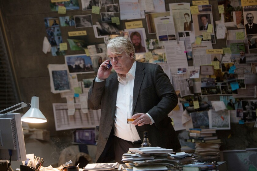 Philip Seymour Hoffman in 'A Most Wanted Man'