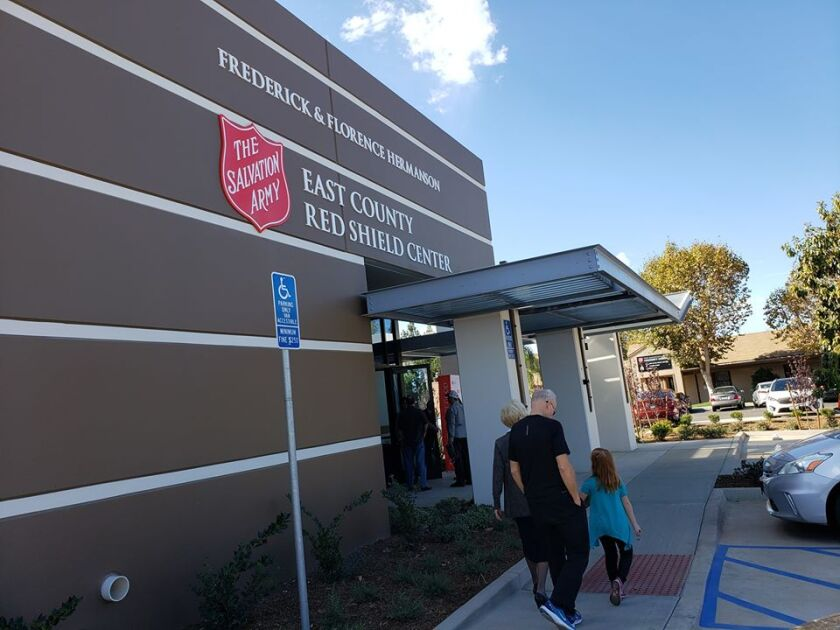 El Cajon will be providing $10K for The Salvation Army's program to reunite homeless individuals with their families.