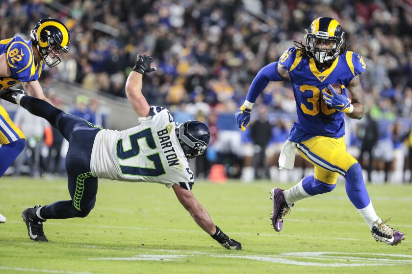 Rams Stay In The Nfc Wild Card Hunt With Win Over Seahawks
