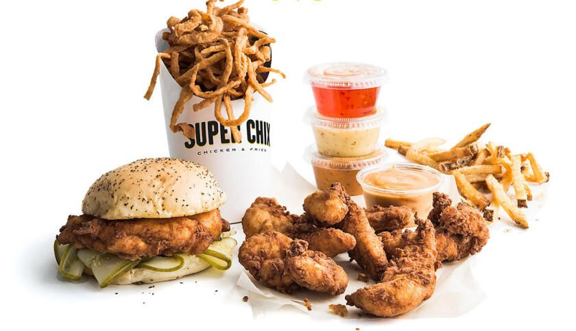KFC owner Yum Brands is testing a new concept in Texas called Super Chix.