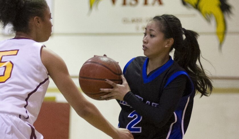 Eastlake's Trianna Arreola-Owen has helped the Titans to a 21-3 record and No. 8 ranking in the San Diego Section.