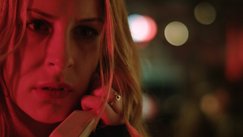 "Elyse Price as Jo Lee-Haywood in a scene from the movie ""Pickings."" Credit: Dark Passage Films"