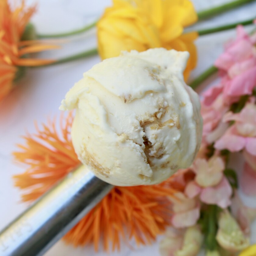 Wildflower Honey with Ricotta Walnut Lace Cookies