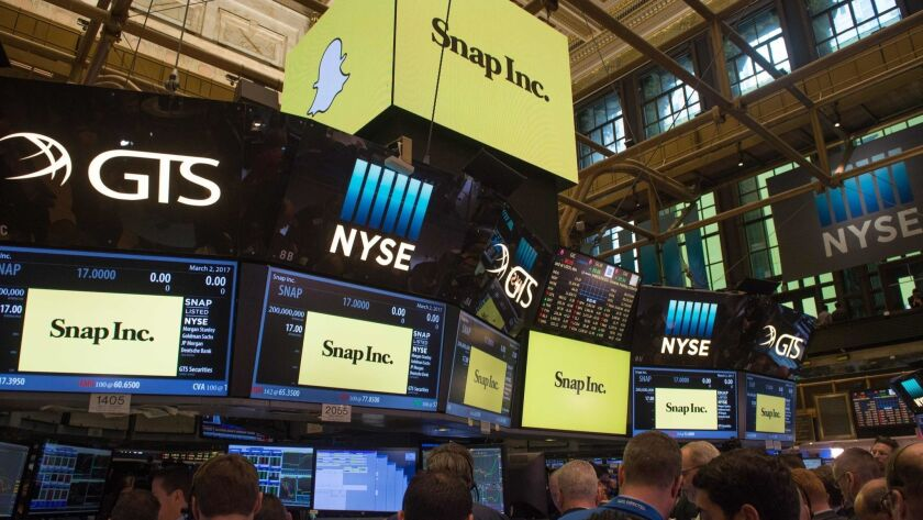 Snap had its IPO on March 2, 2017.