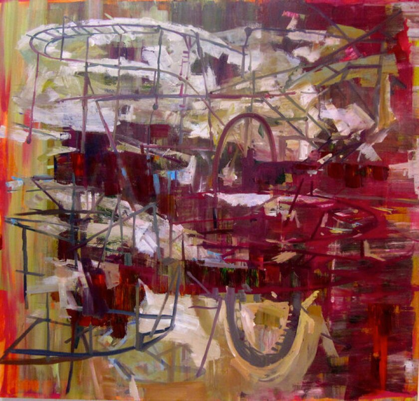 """""""The Heights"""" by Marie Thibeault at George Lawson."""