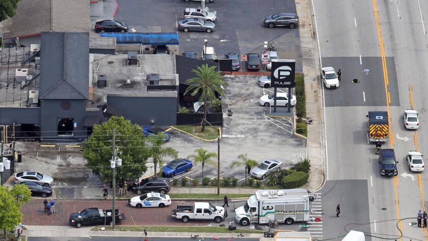 """Este """"acto de terrorismo y odio"""", según el presidente estadounidense, Barack Obama, dejó 50 muertos y 53 heridos en la discoteca Pulse, donde unas 300 personas se habían congregado este sábado para pasarla bien en una Noche Latina. Vista aérea de la discoteca Pulse, en Orlando."""