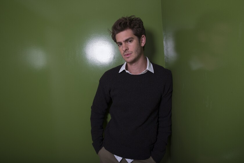 """Andrew Garfield, photographed at the Hotel Bel-Air in 2014, will appear in a London revival of """"Angels in America"""" at the National Theatre in 2017 in England."""