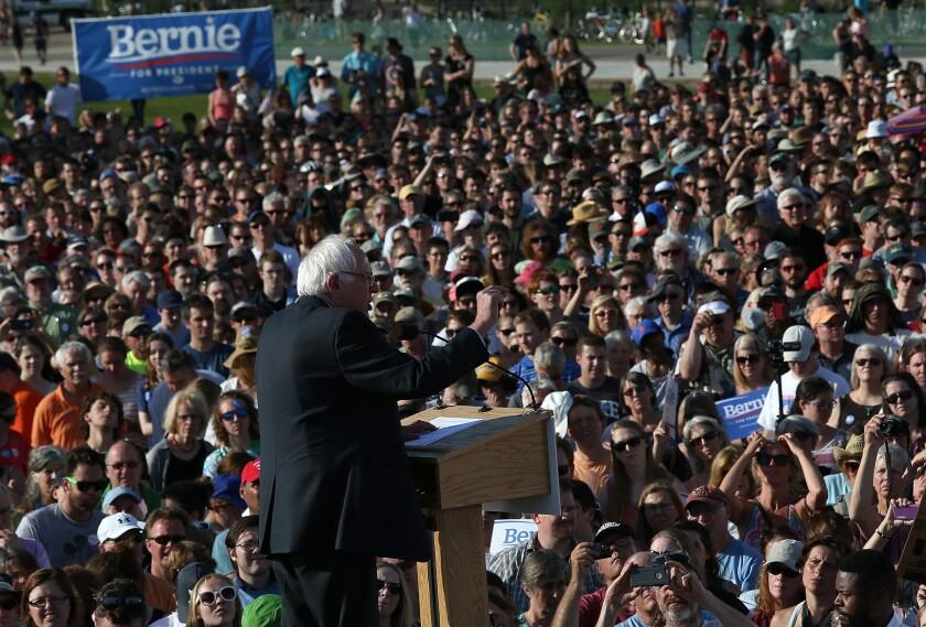 Sen. Bernie Sanders launches presidential bid
