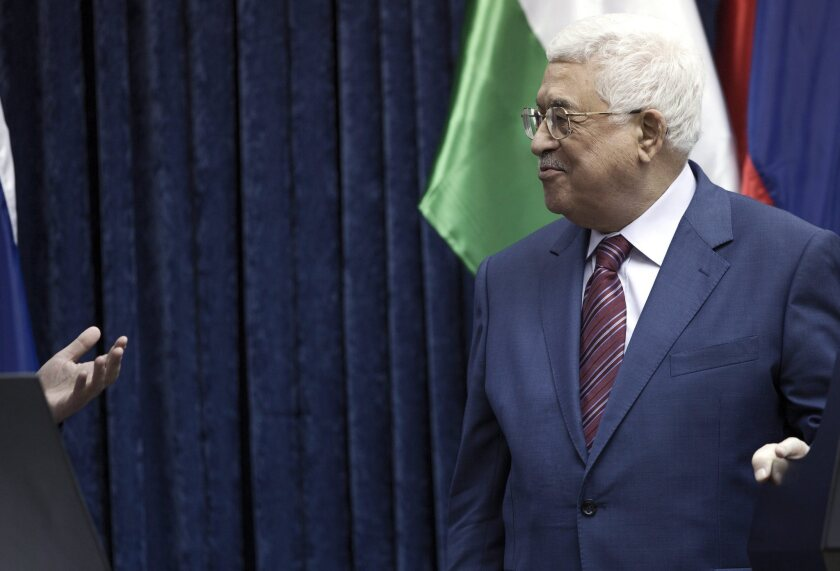 Palestinian Authority President Mahmoud Abbas was unanimously elected to another five-year term.