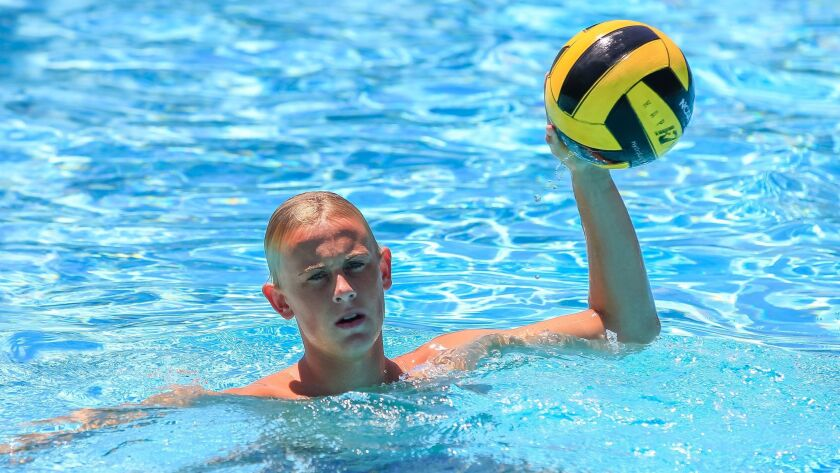 Vista's Josh Spence scored crucial goals in the Panthers' upset win over Cathedral Catholic.