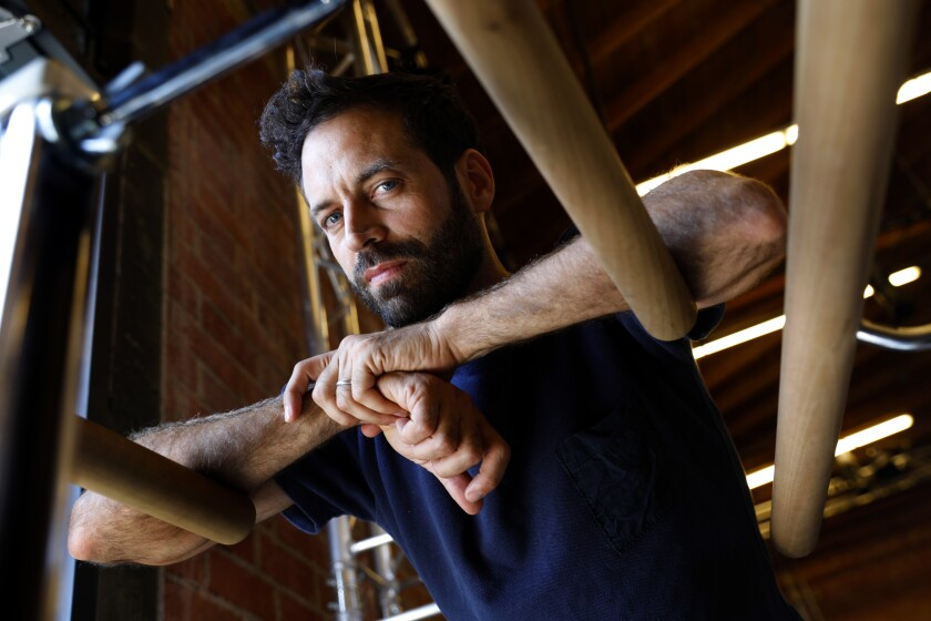 L.A. Dance Project's Benjamin Millepied.