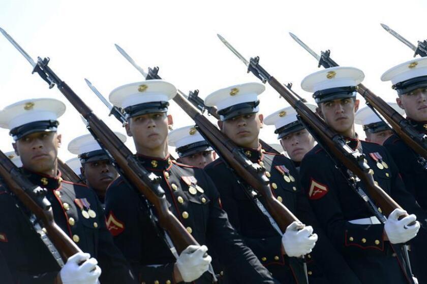Cuatro marines murieron este martes al accidentarse el helicóptero en el que realizaban una entrenamiento rutinario en California, según informaron las autoridades. EFE/Archivo