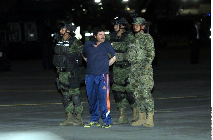 """La defensa de Joaquín """"el Chapo"""" Guzmán espera que la Suprema Corte de Justicia de la Nación atraiga el caso de su eventual extradición a Estados Unidos."""