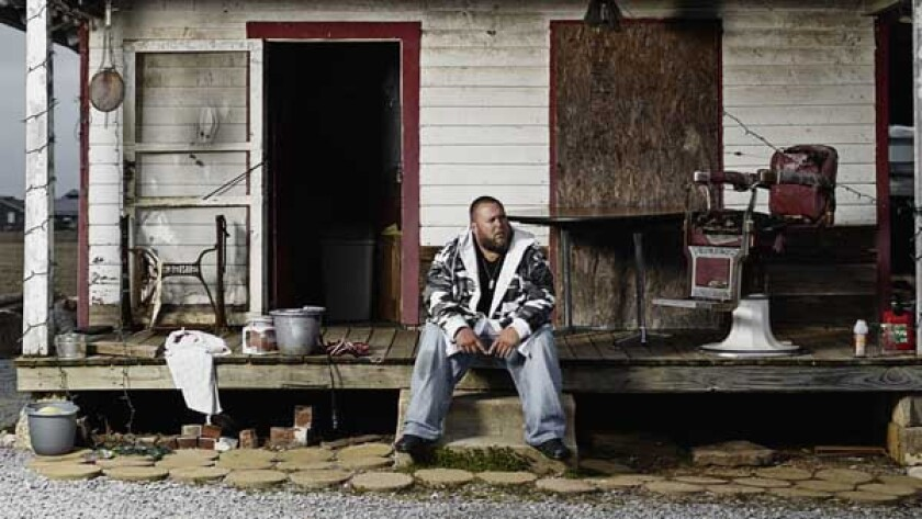 "Big Smo in the new series ""Big Smo"" on A&E."