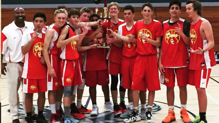 Cathedral Catholic High School Dons freshman boys basketball team