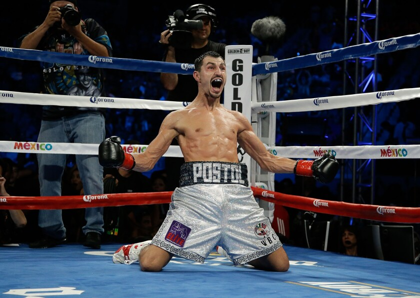 Viktor Postol takes title by knocking out Lucas Matthysse in 10th ...
