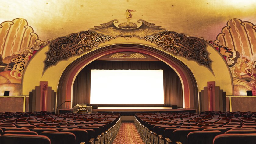The Casino's 1,184-seat theater, which opened in 1929, is said to be the first cinema built specifically for movies with sound.