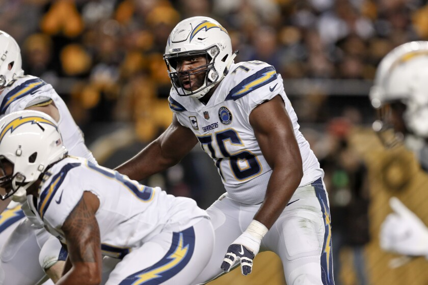 Chargers Okung Football