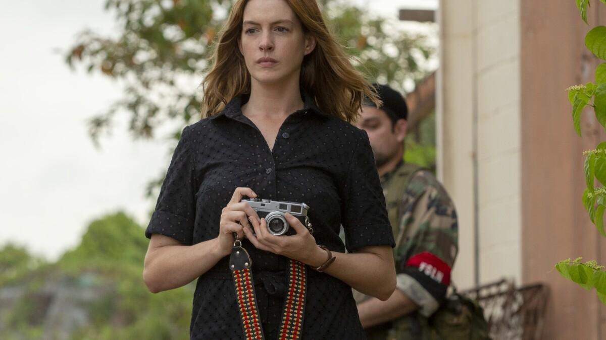 Anna Hathaway in The Last Thing He Wanted recensie op Netflix België