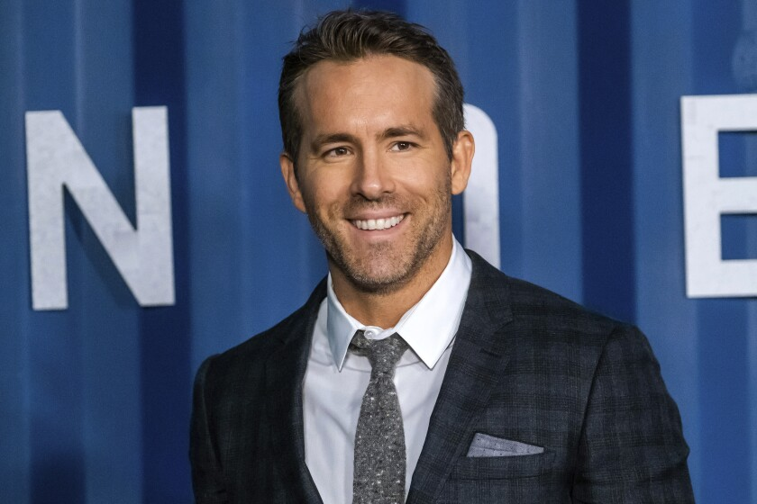 "Ryan Reynolds attends the premiere of Netflix's ""6 Underground"" at The Shed at Hudson Yards on Tuesday, Dec. 10, 2019, in New York. (Photo by Charles Sykes/Invision/AP)"