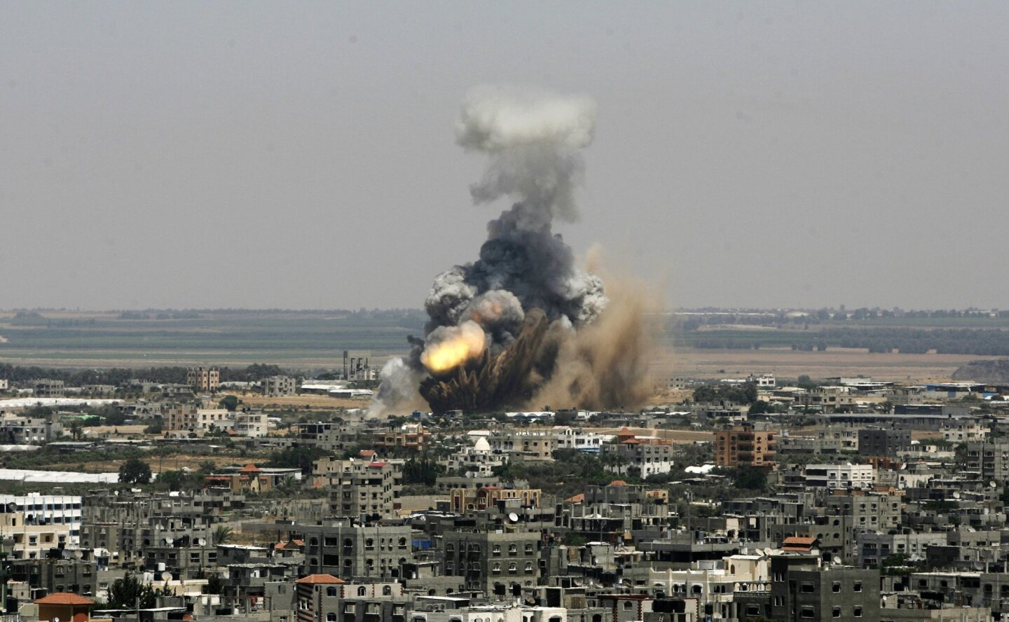 Tensions build on the  Israel-Gaza Border