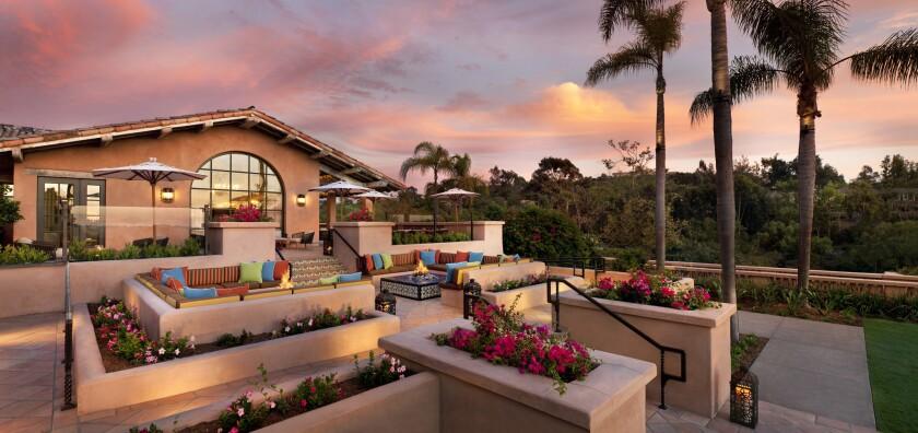 Rancho Santa Fe's Rancho Valencia Resort & Spa.