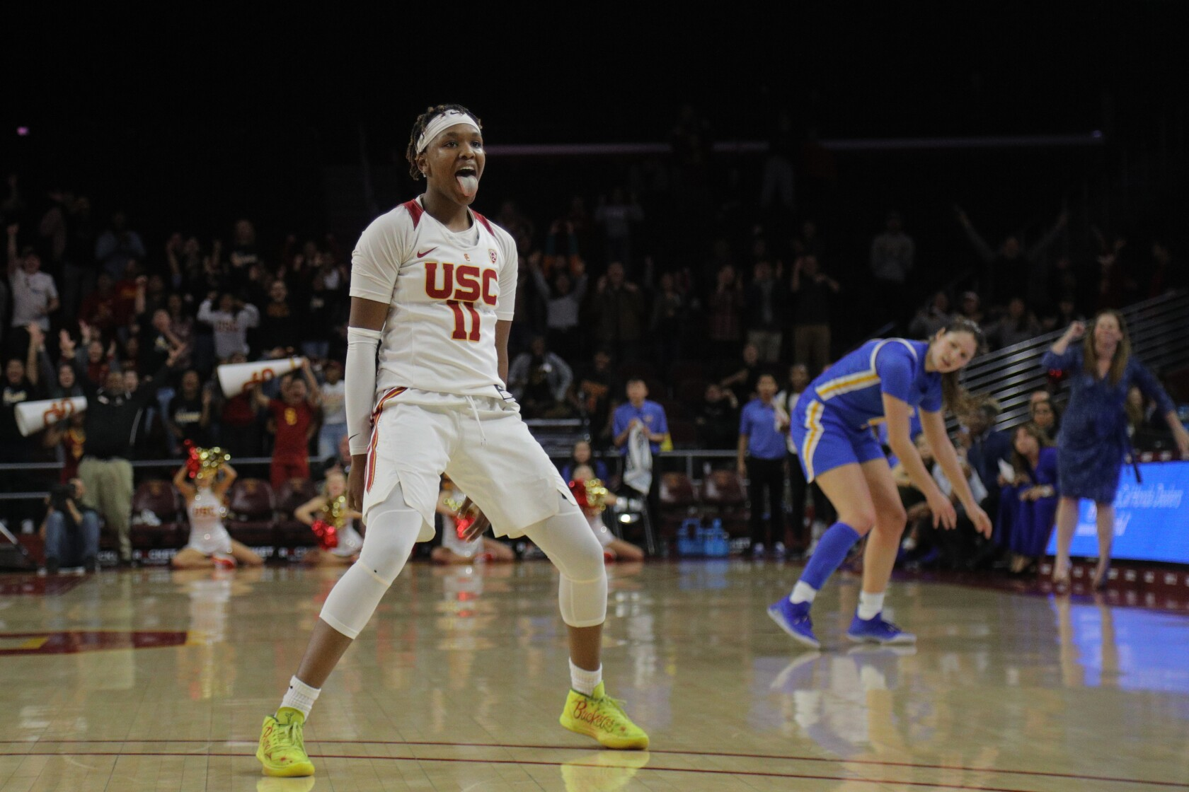 No. 7 UCLA women suffer first loss of season at USC in double overtime
