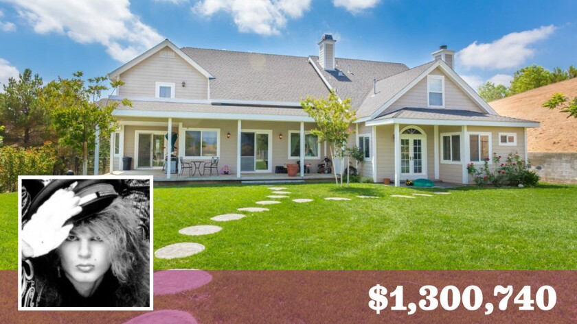 Drummer Rikki Rockett of Poison fame has put his roughly-five-acre home in Castaic on the market for a little over $1.3 million.