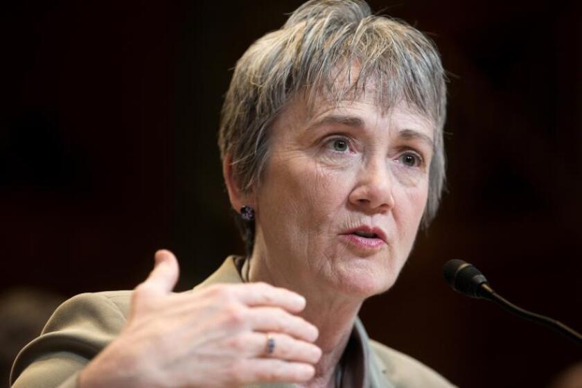 La secretaria de la Fuerza Aérea de Estados Unidos, Heather Wilson. EFE/Archivo