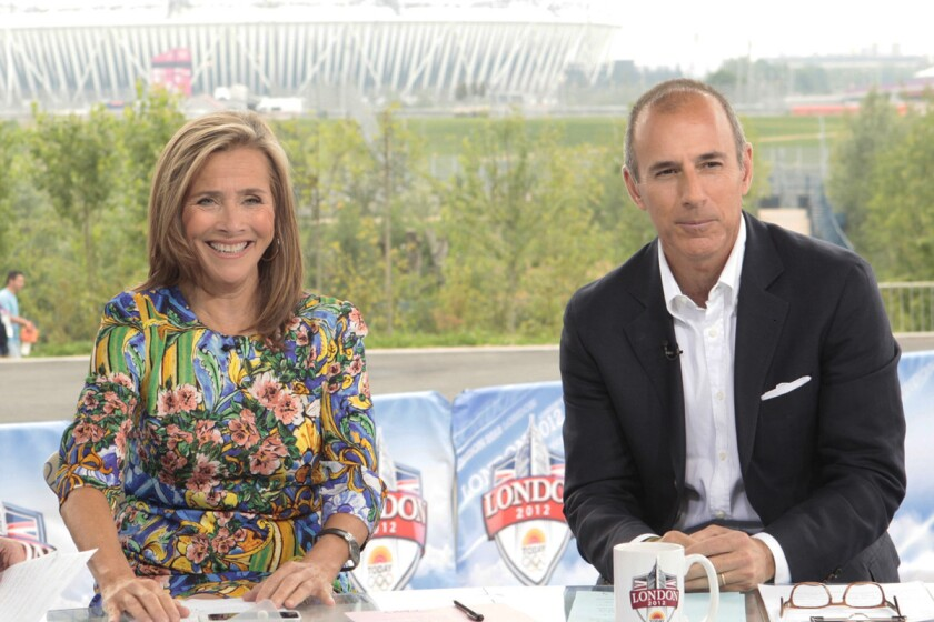 Meredith Vieira, left, will fill in for Bob Costas as anchor of NBC's Olympic coverage Friday night. Matt Lauer, pictured right, also subbed in for Costas as a commentator.