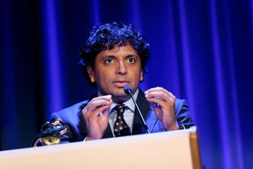 El director indio M. Night Shyamalan. EFE/Archivo