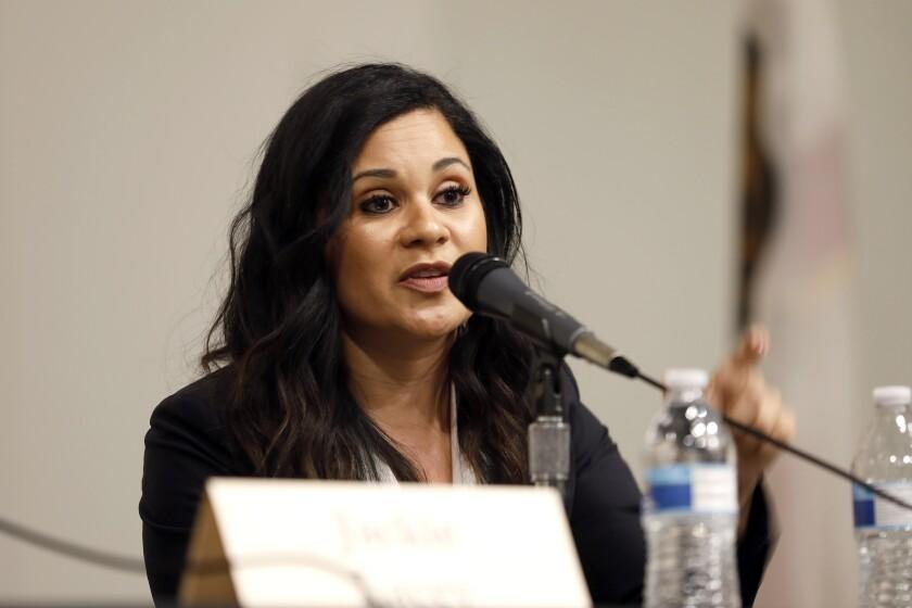 Public defender Rachel Rossi