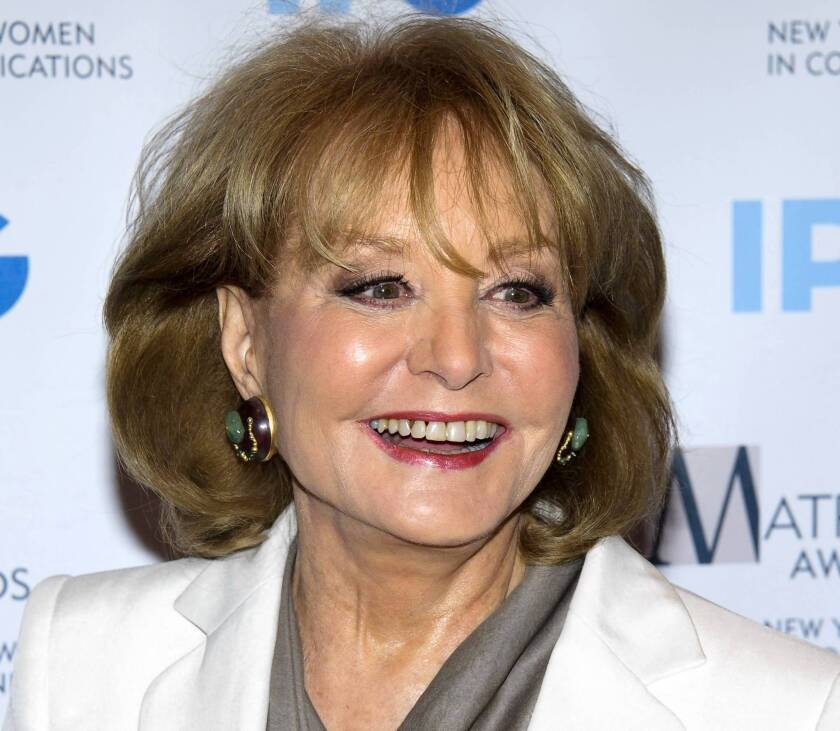Barbara Walters has been a pioneer for women in the TV field.
