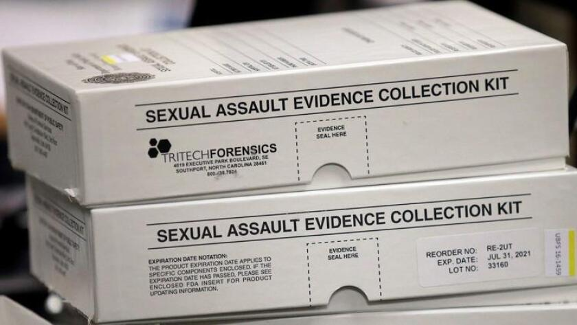 California Assembly bill requiring law enforcement agencies to preserve untested rape kits heads to governor