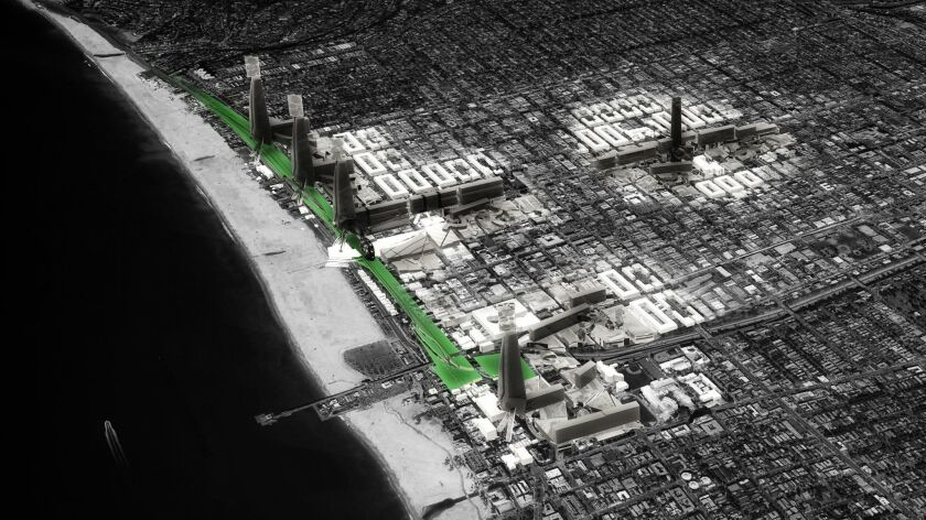 Building greater density along the cool Santa Monica coast would minimize regional energy use during the greater number of extreme heat days to come.