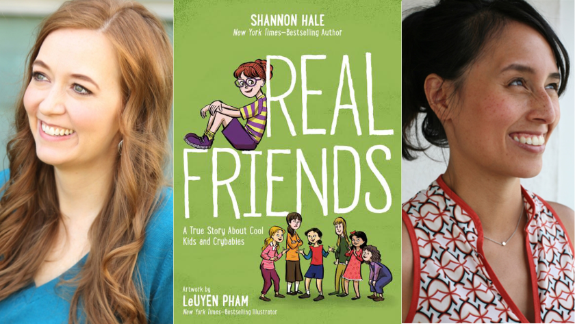 Cover reveal: 'Real Friends' and navigating the perils of