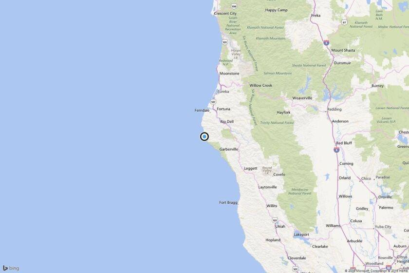 Earthquake: 3.3 quake strikes near Rio Dell, Calif.