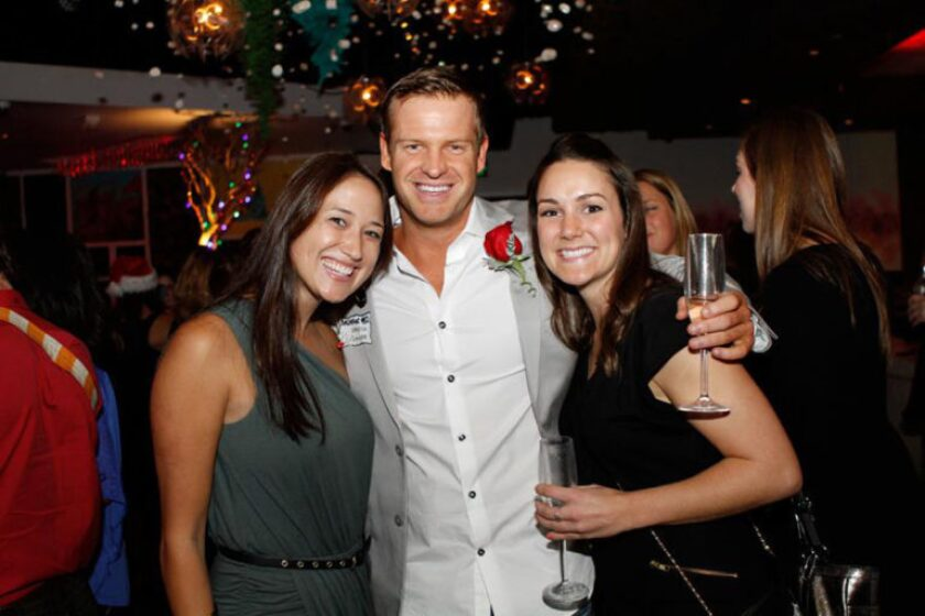 The Jingle Bell Bachelor Bash is a fundraiser hosted by the Junior League of San Diego.