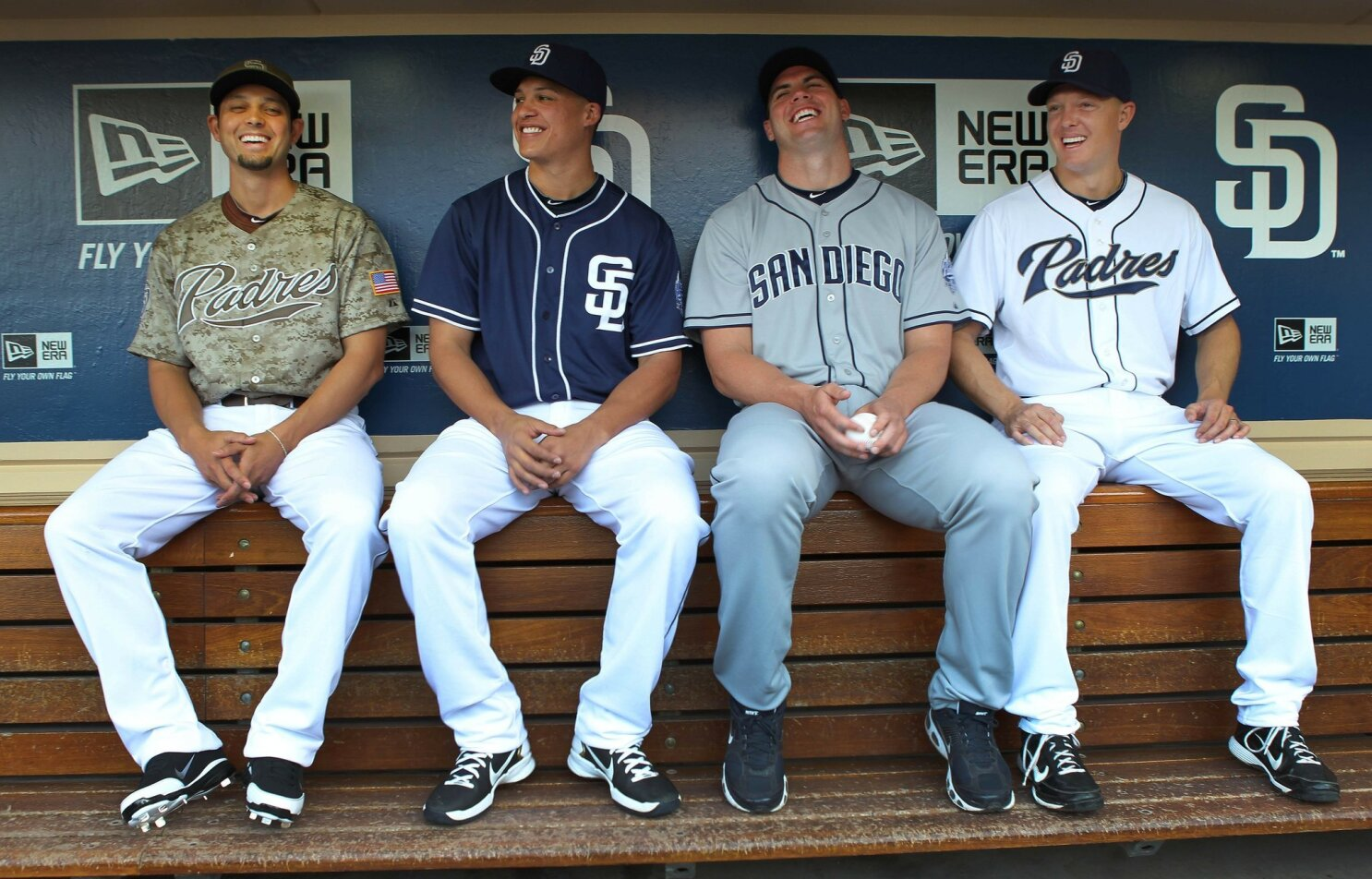 d7d2b5a0df1 Padres unveil new uniforms for 2012 - The San Diego Union-Tribune