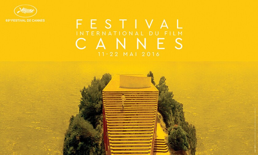Official poster for the 69th Cannes Film Festival