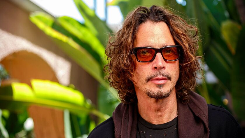 BEVERLY HILLS - CA - JULY 31, 2015 - Chris Cornell photographed at the Beverly Hilton Hotel, July 31